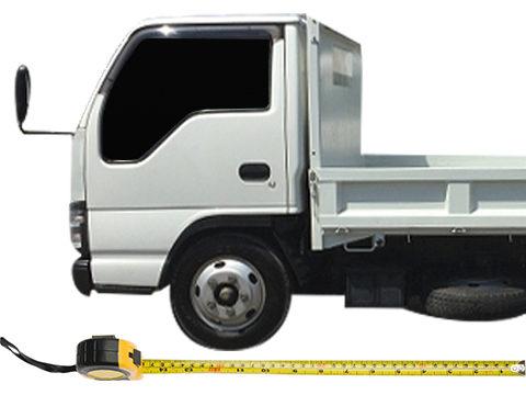 トラックの寸法